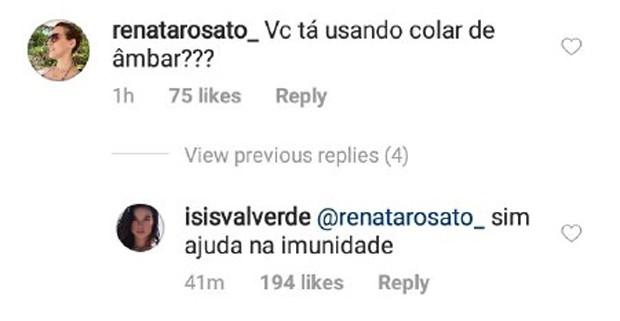 isis Valverde (Foto: Reprodução/Instagram)