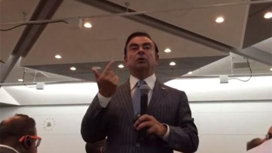 Crise é penalidade dura para mercado de carros no Brasil, diz Ghosn