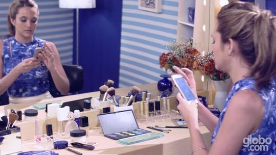 Juliana Paiva ensina a produzir uma make de verão