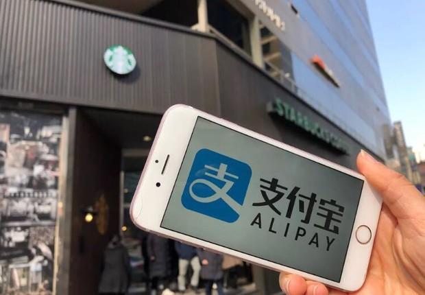 Grupo Ant é proprietário da Alipay, maior plataforma de pagamentos online da China (Foto: Reprodução Twitter)