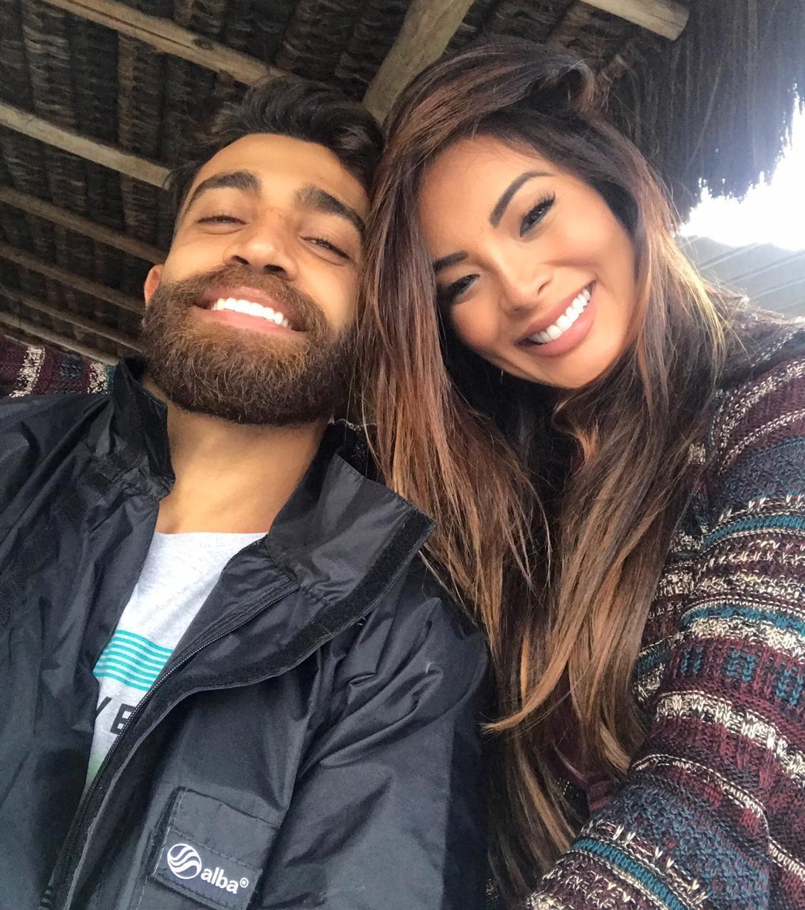 Carol Nakamura e o namorado, o empresário Steffan Menah (Foto: Arquivo pessoal)