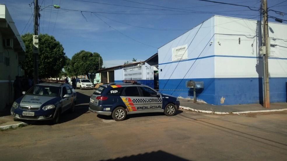 Sede de sindicato foi alvejada com tiros em março deste ano (Foto: Brígida Mota/TVCA)