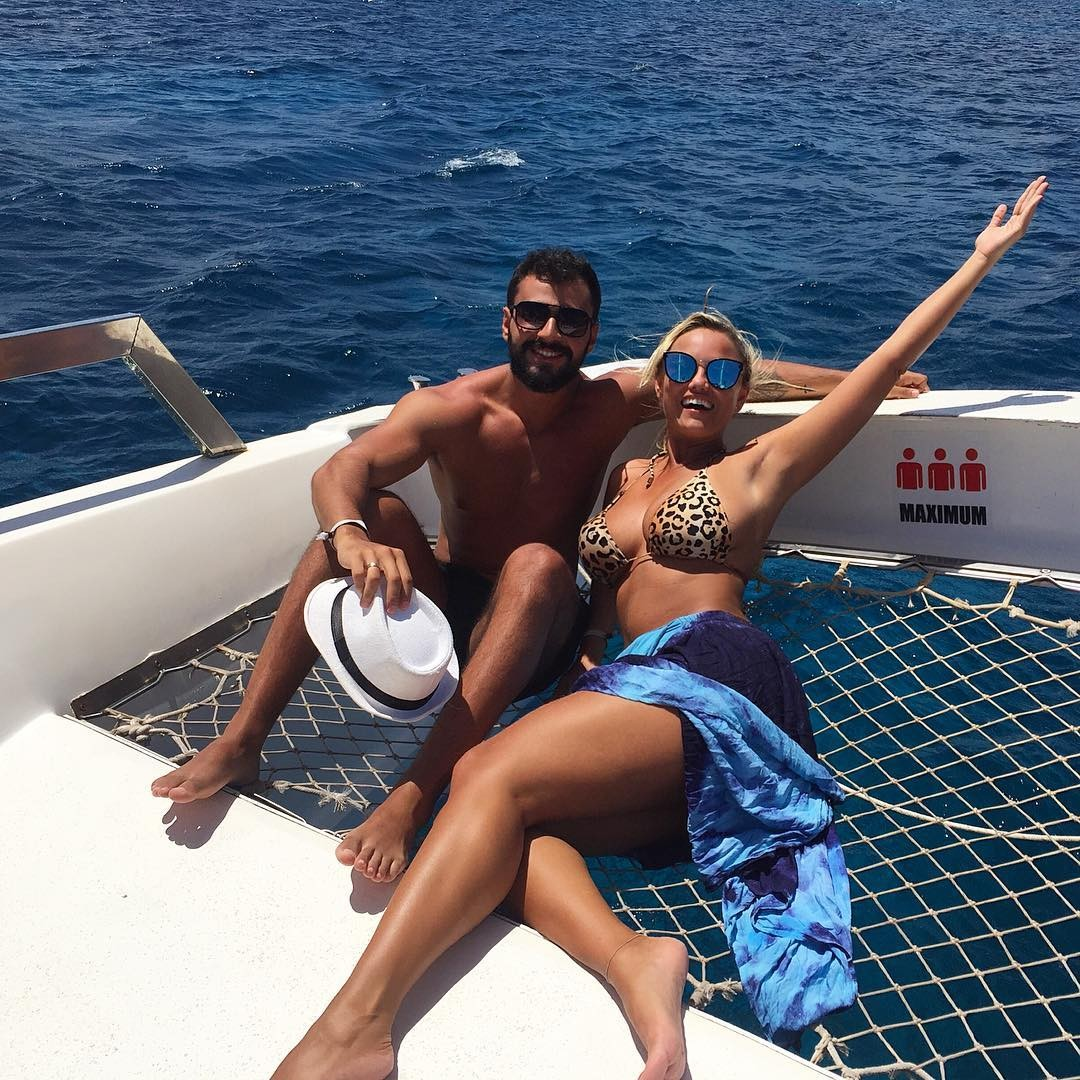 Ellen Rocche e o namorado (Foto: Reprodução/Instagram)