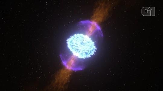 Cientistas fazem observação inédita de colisão de estrelas de nêutrons, um dos eventos mais violentos do universo