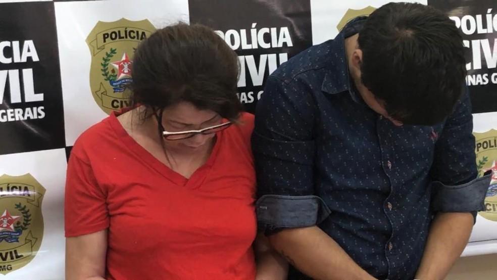 Adriana Yamamotto e Yago Alkimim foram localizados pela polícia antes de embarcar em ônibus clandestino — Foto: Raquel Freitas/G1