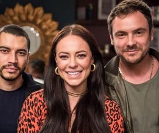 Camilo (Lee Taylor), Vivi (Paolla Oliveira) e Chiclete (Sérgio Guizé) | Divulgação/TV Globo