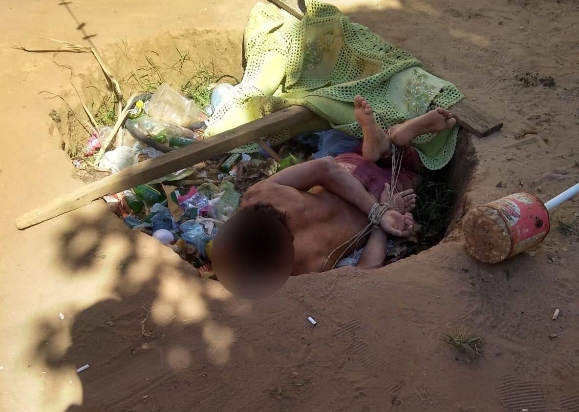 Morador é torturado por 12 horas em MT e obrigado a beber água sanitária