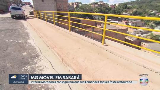 MG Móvel comemora junto aos moradores de Sabará a entrega de mais uma obra