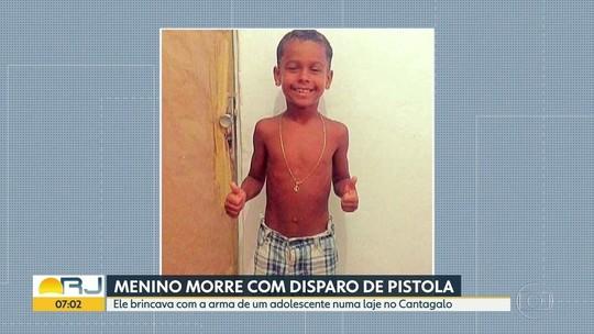 Menino morto com tiro na cabeça será sepultado hoje, no Rio