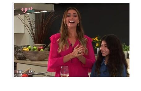 Mônica Martelli e a filha Julia gravaram o programa 'Você não está só', do GNT Reprodução