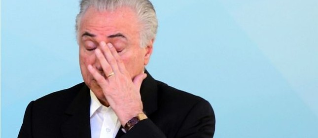 Michel Temer, presidente da República (Foto: Eraldo Perez / AP)