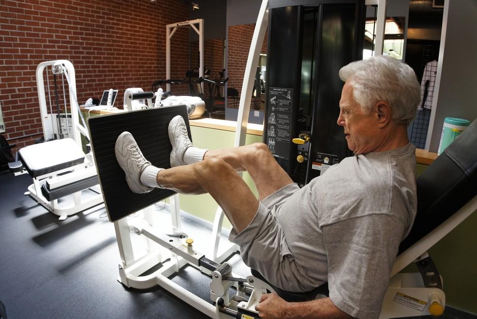 Aliada ao exercício aeróbico, a musculação é muito importante (Foto: Getty Images)