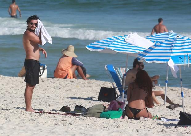 Bruno Gissoni e Yanna Lavigne (Foto: Dilson Silva/AgNews)
