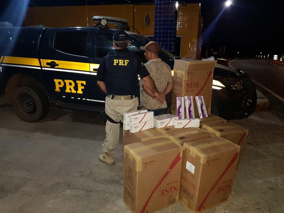 Cinco mil maços de cigarros vindos do Paraguai são apreendidos em Piripiri - G1