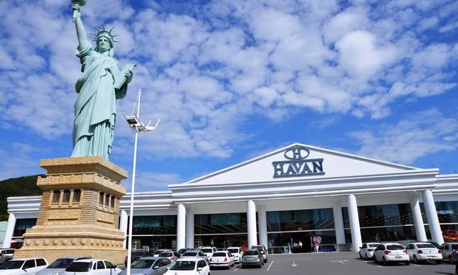 Fachada da Loja da Havan