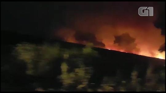 Focos de incêndios são registrados na BR-163 em Belterra