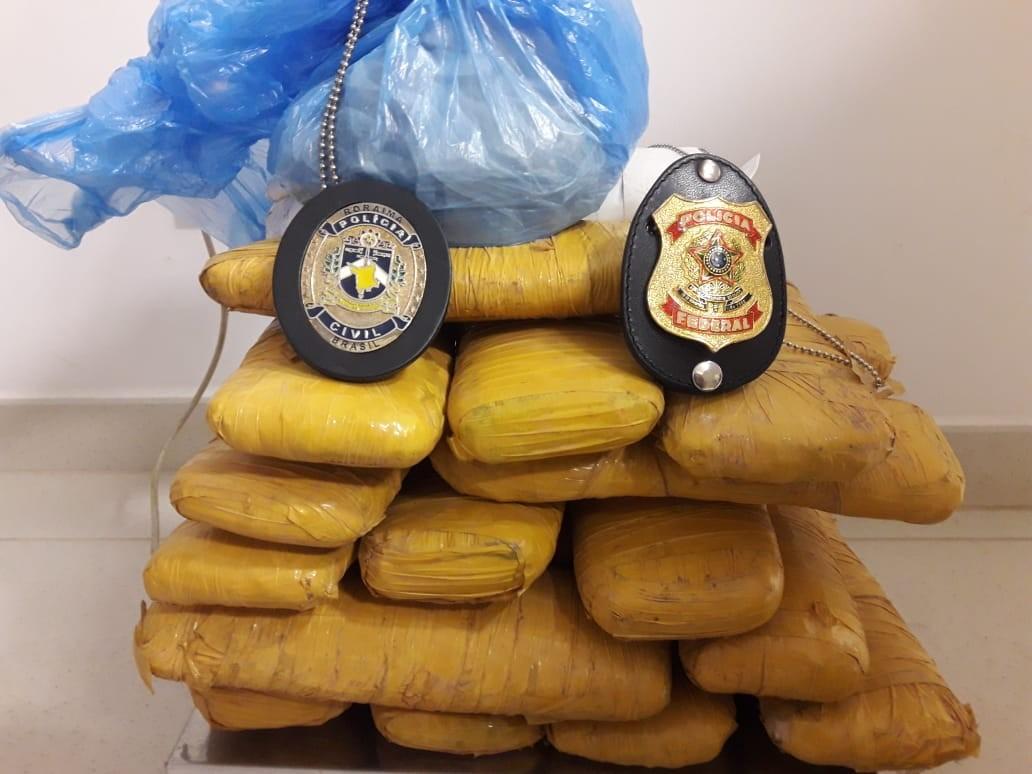 Casal é preso pela PF com 10kg de skunk em Boa Vista