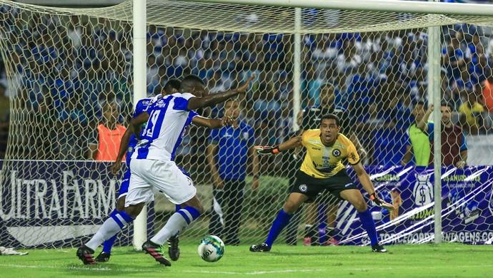 CSA x Parnahyba Rei Pelé (Foto: Ailton Cruz/Gazeta de Alagoas)