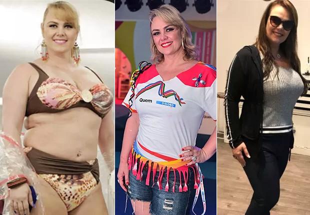 Ana Paula Almeida: em 2014, 2017 e 2018 (Foto: Reprodução/ Instagram, Renato Wrobel)