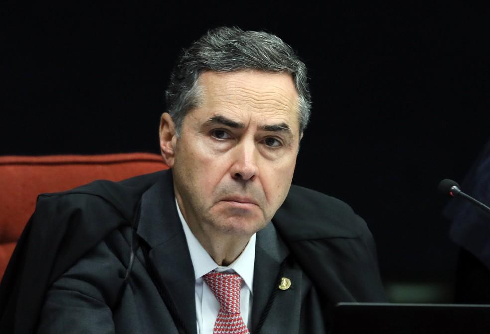 O ministro Luis Roberto Barroso, presidente do Tribunal Superior Eleitoral — Foto: Nelson Jr. / SCO/STF
