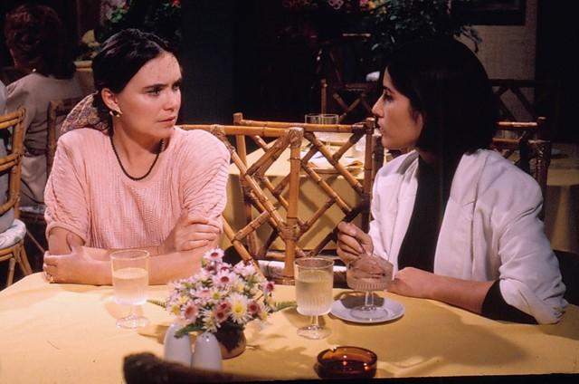 Regina Duarte e Gloria Pires em 'Vale tudo' (Foto: TV Globo)