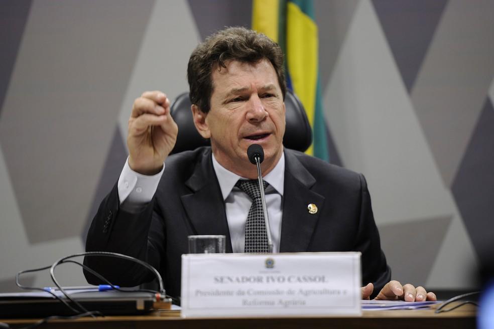 TJ-RO reduziu pena do ex-senador Ivo Cassol (PP-RO) por fraudes em licitações da prefeitura de Rolim de Moura (RO). — Foto: Edilson Rodrigues/Agência Senado