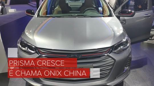 Chevrolet Prisma 'brasileiro' tem interior revelado em carro de testes