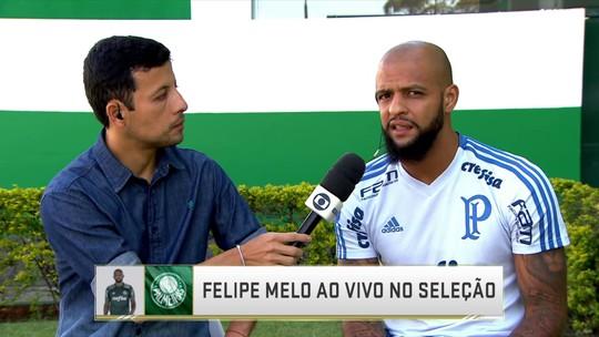 Felipe Melo relata pedradas no ônibus do Palmeiras, mas minimiza ambiente hostil no Paraguai