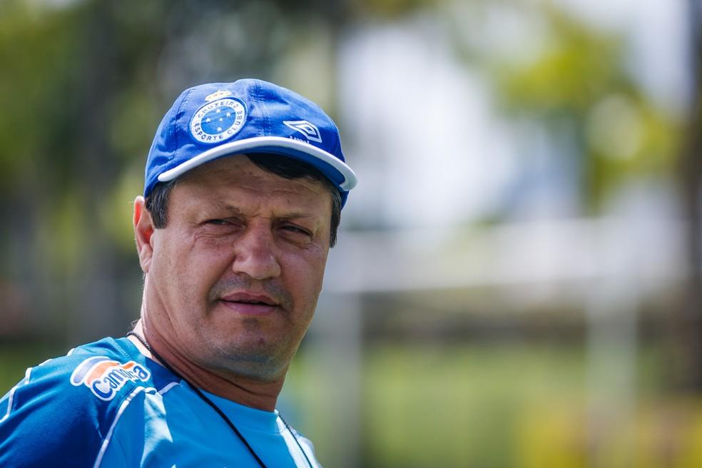Adilson Batista vai ser o treinador do Cruzeiro na primeira Série B da história do clube — Foto: Vinnicius Silva/Cruzeiro