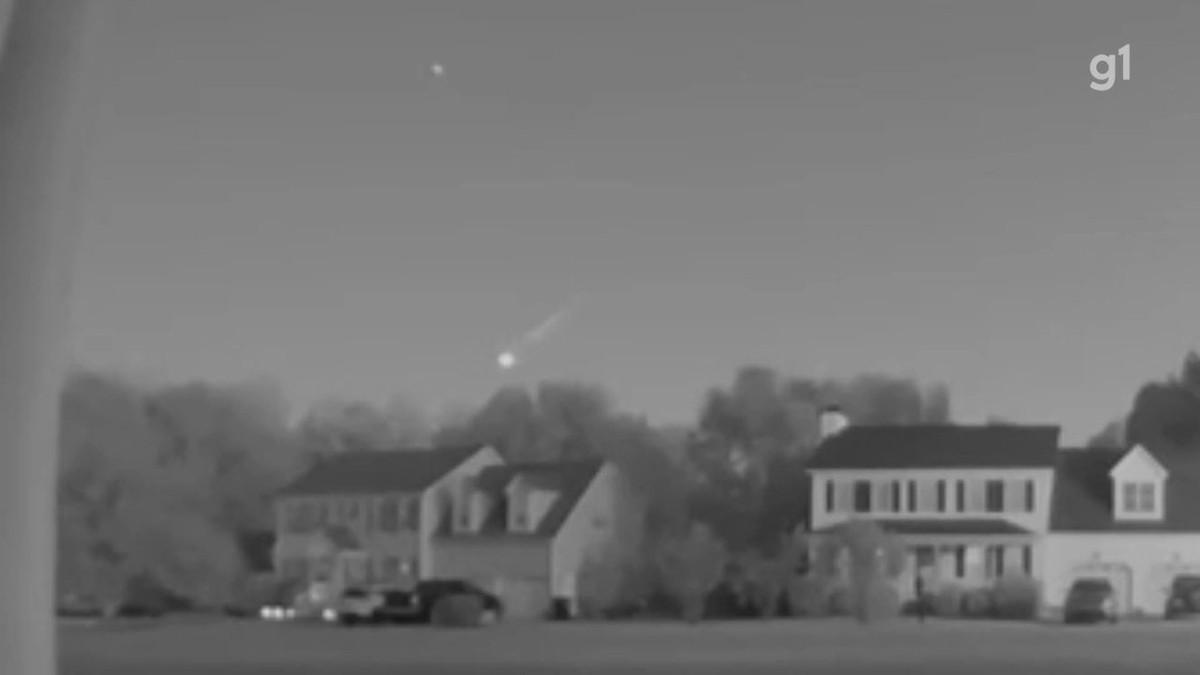 VÍDEO: veja o momento em que meteoro vira bola de fogo no céu dos EUA