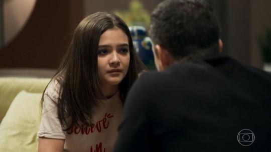 Mel Maia dá um show de atuação em cena e é 'aclamada' pela web