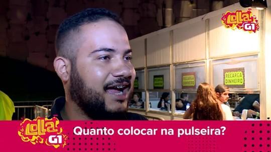 De R$ 50 a R$ 500: Público fala quanto planeja gastar no Lollapalooza