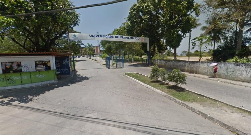 Terreno onde corpo de adolescente foi encontrado pertence à Faculdade de Odontologia de Pernambuco (FOP), no campus Camaragibe da UPE ? Foto: Reprodução/Google Street View