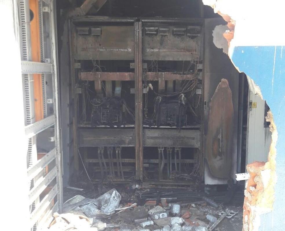 Municípios do Acre e um do Amazonas ficaram parcialmente sem energia após incêndio em usina termelétrica (Foto: Arquivo Pessoal)