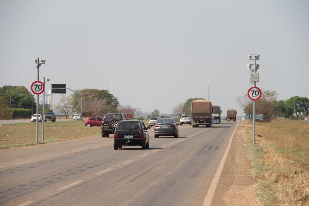 Governo pretende instalar novos radares em rodovias do Tocantins — Foto: Ageto/Governo do Tocantins