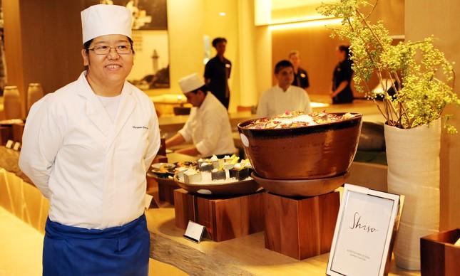 A chef Miriam Moriyama