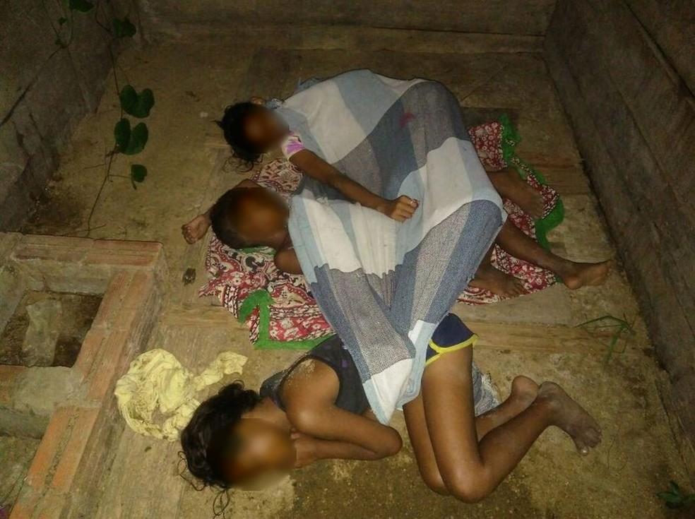 Irmãos têm 9,11 e 13 anos e foram encontrados na noite de quarta-feira (8)  (Foto: Divulgação/Polícia Civil)