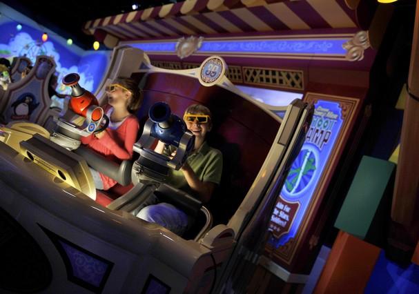 Brinquedo Toy Story Mania ganhará expansão  (Foto: Divulgação/Disney)