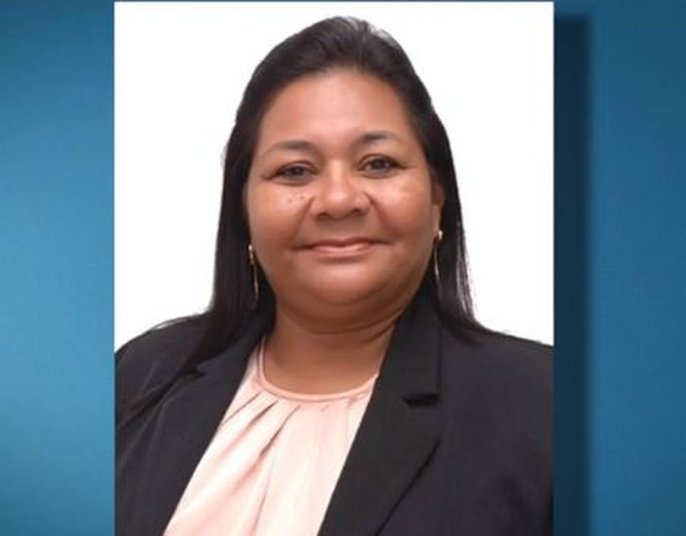 Rosinha Guerreira foi presa e afastada do cargo por suspeita de rachid, em Linhares, ES — Foto: Reprodução/ TV Gazeta