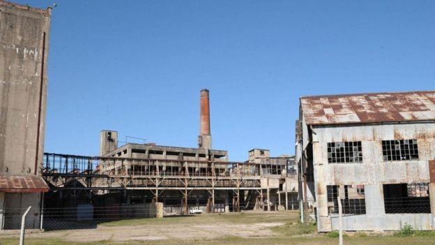 A Paisaje Industrial Fray Bentos se tornou um patrimônio mundial da Unesco em 2015 (Foto: MIGUEL ROJO/GETTY IMAGES via BBC)