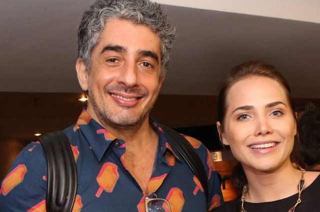 Michel Melamed e Leticia Colin (Foto: Reginaldo Teixeira)