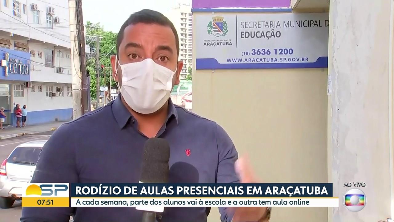 Araçatuba terá rodízio de aulas presenciais em 2021