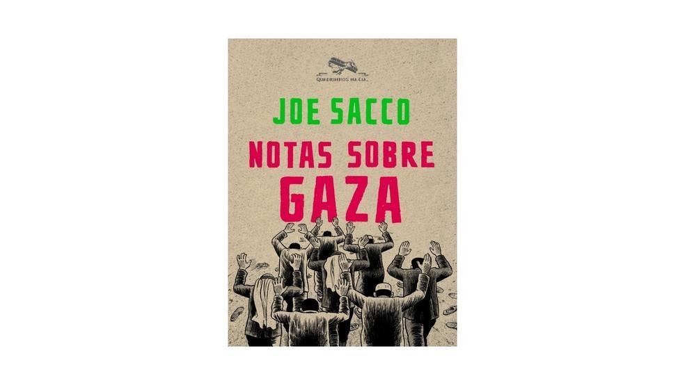 Notas sobre Gaza, de Joe Sacco, conta sobre uma incursão militar que tinha objetivo de ser uma operação de captura de guerrilheiros palestinos (Foto: Divulgação/Amazon)