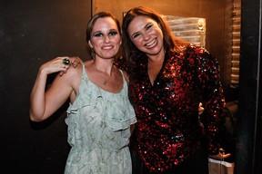 Mariana Belém e a mãe, Fafá de Belém, em bastidores de show em São Paulo (Foto: Manuela Scarpa/ Foto Rio News)