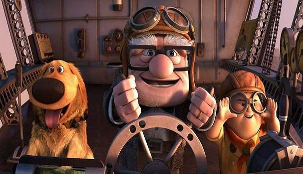 Cena do filme UP, da Disney (Foto: Reprodução/YouTube)