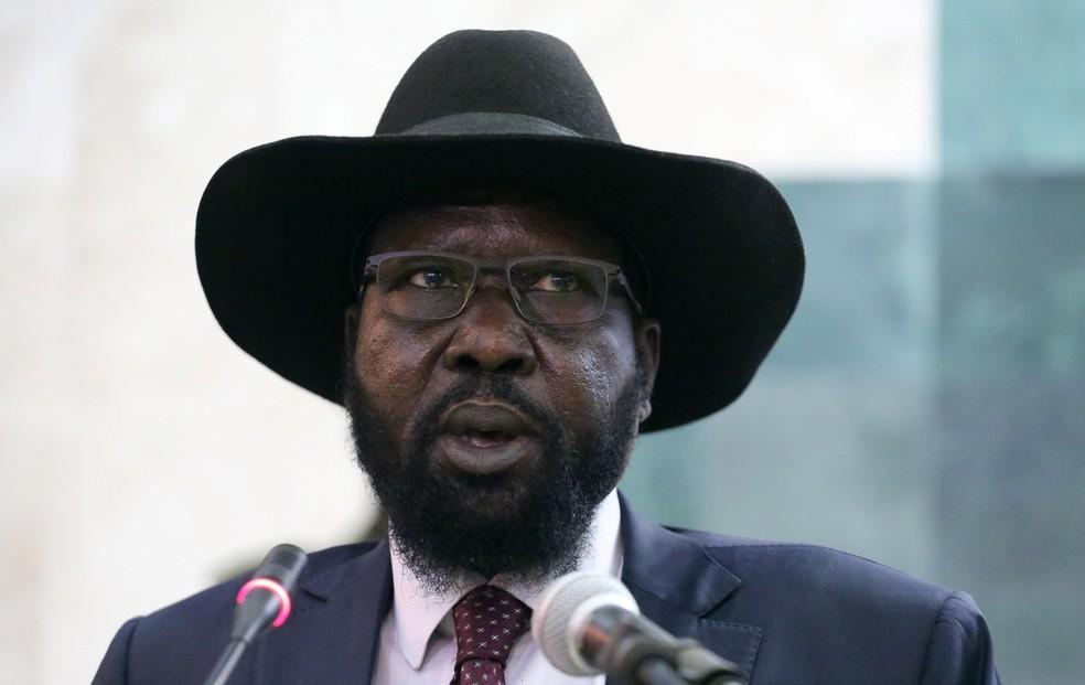 O presidente do Sudão do Sul, Salva Kiir (Foto: Jok Solomon /Reuters)