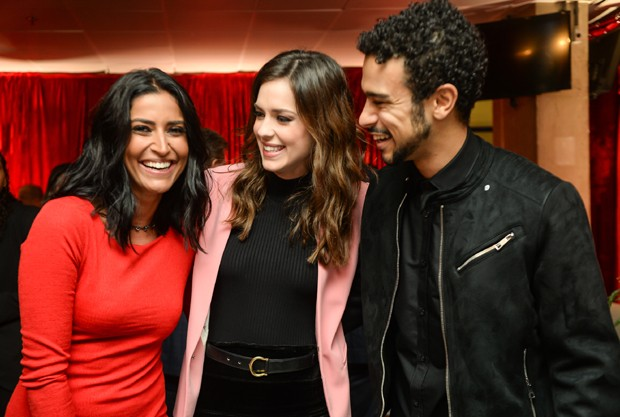 Maria Joana, Sophia Abrahão e Sérgio Malheiros (Foto: Globo/Vitor Pollak)