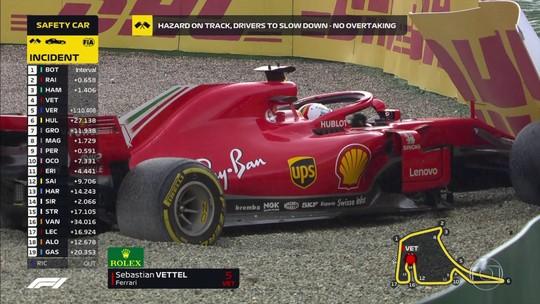 Sebastian Vettel, um dos grandes campeões da história da Fórmula 1, mas...