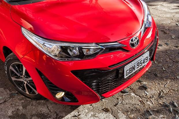Toyota Yaris XLS 1.5 CVT (Foto: Leo Sposito/Autoesporte)