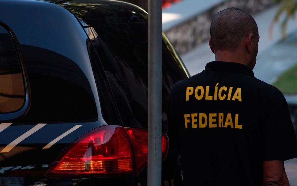 Polícia Federal deflagrou na manhã desta segunda-feira (13), a operação Contrafeito com o objetivo de combater fraudes na Previdência Social (Foto: Divulgação/Polícia Federal)